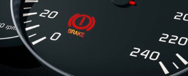 brake light on dashboard