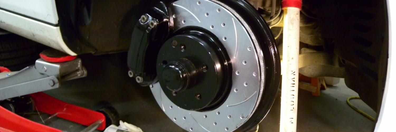 brake rotor and pad