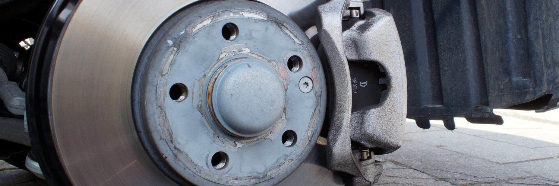 brake pad and rotor