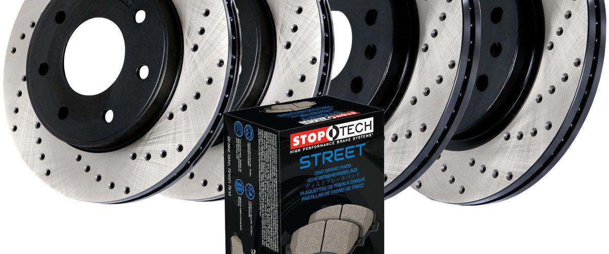 brake kit box and rotors