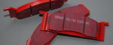 red brake pads