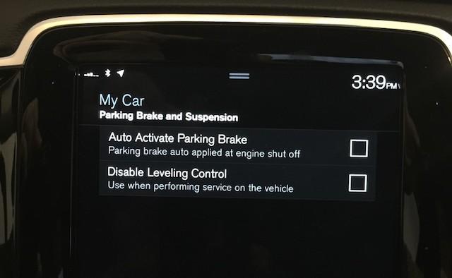 Brake disable