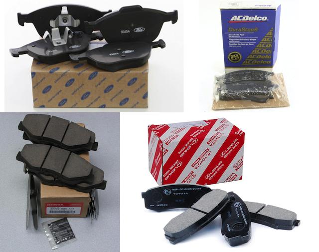 various oem brakes