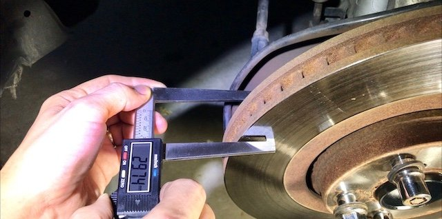 rotor thickness
