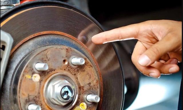 check brake rotor