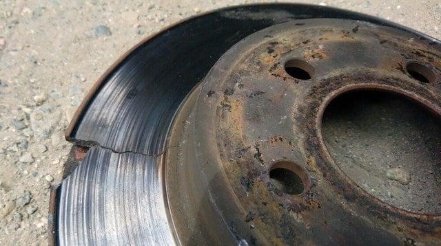 Cracked rotor