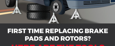 replace brakes infographic