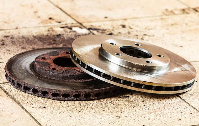 worn rotor