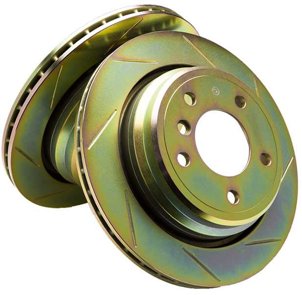 Brembo 1-Piece Slotted Rotor