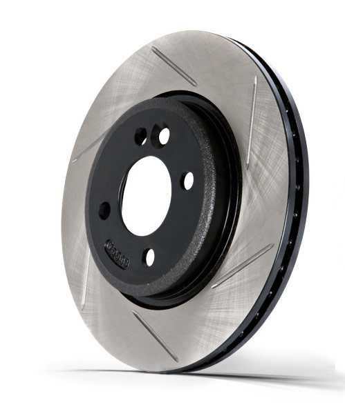 StopTech® 126 Hi-Carbon Slotted Rotor