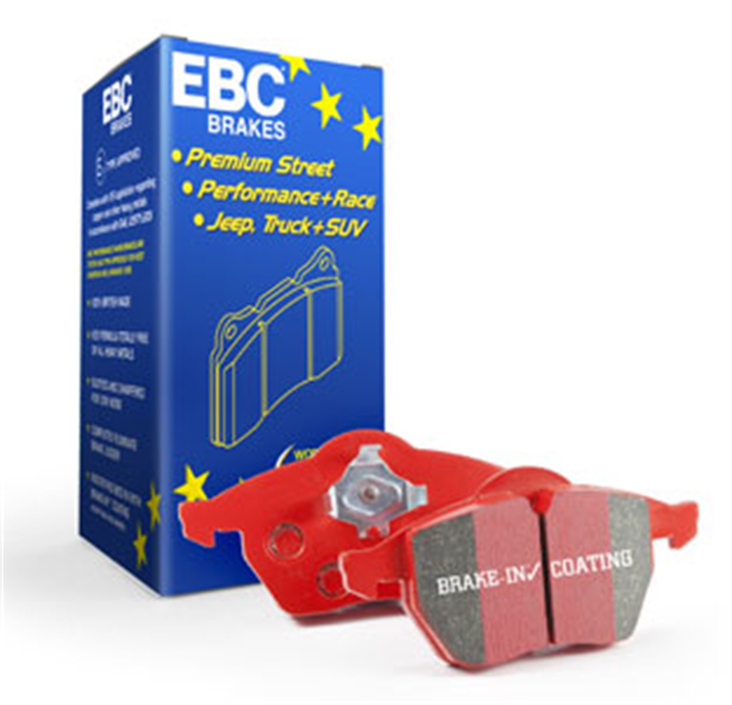EBC Brakes DP3107C Redstuff Ceramic Low Dust Brake Pad