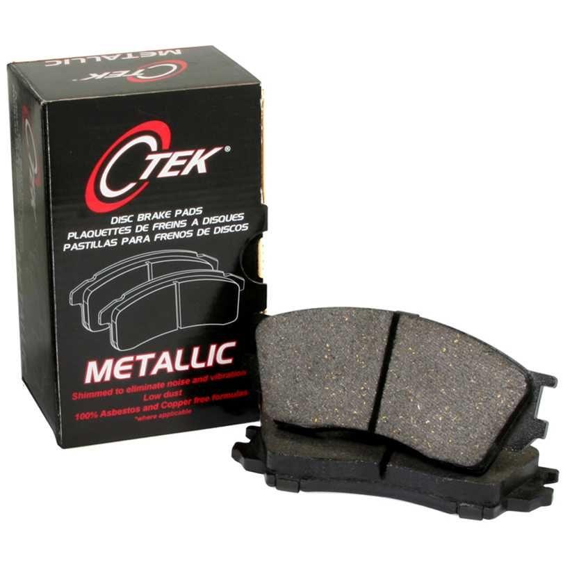 Centric 102.14370 C-Tek Metallic Brake Pad