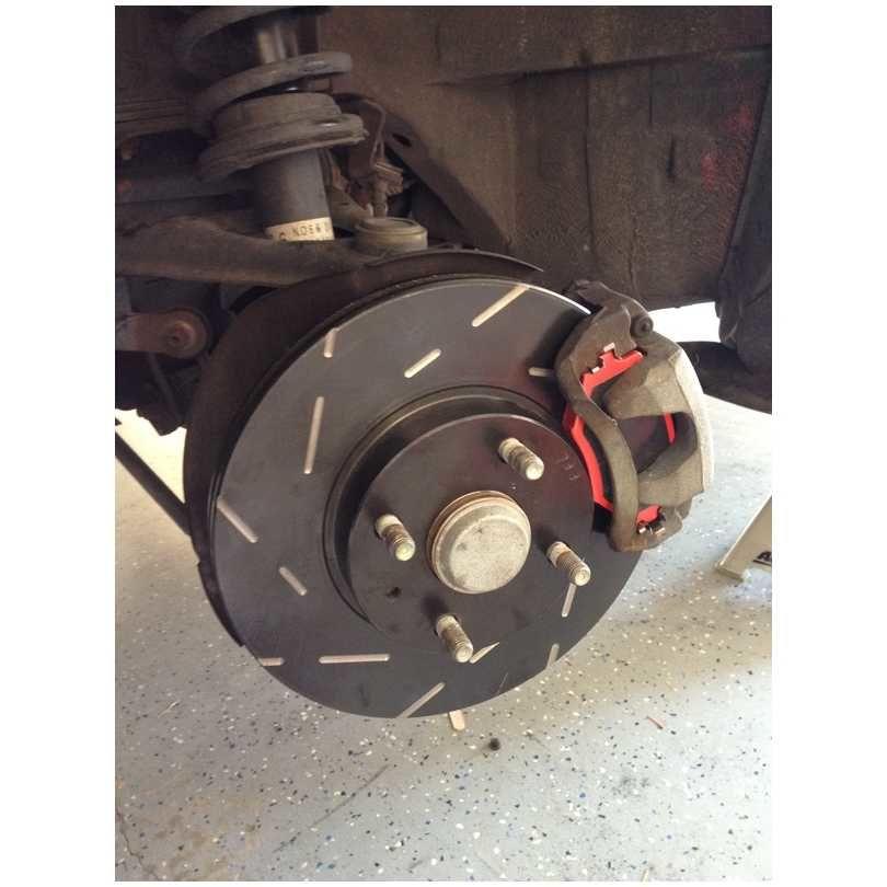 EBC Brakes USR478 USR Series Sport Slotted Rotor