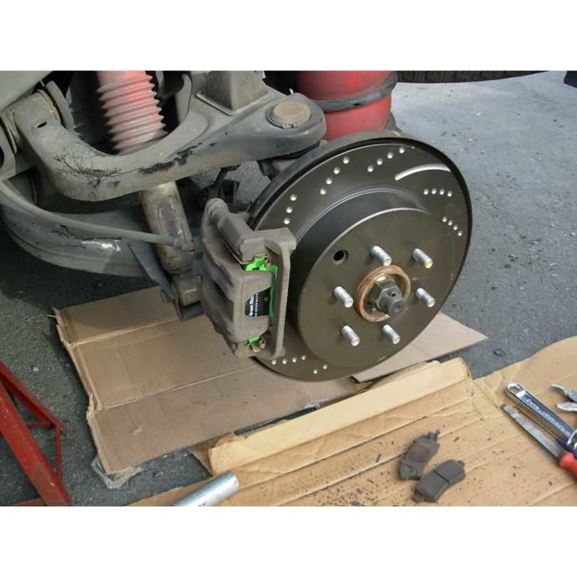 EBC Brakes GD1391 3GD Series Dimpled and Slotted Sport Rotor