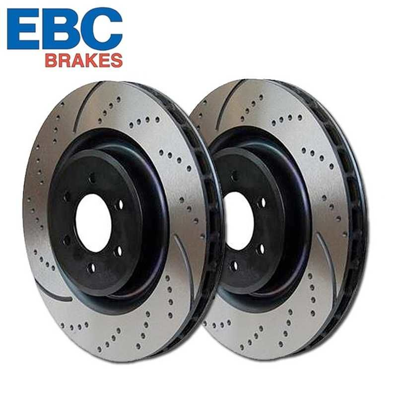 EBC Brakes GD7028 3GD Series Dimpled and Slotted Sport Rotor