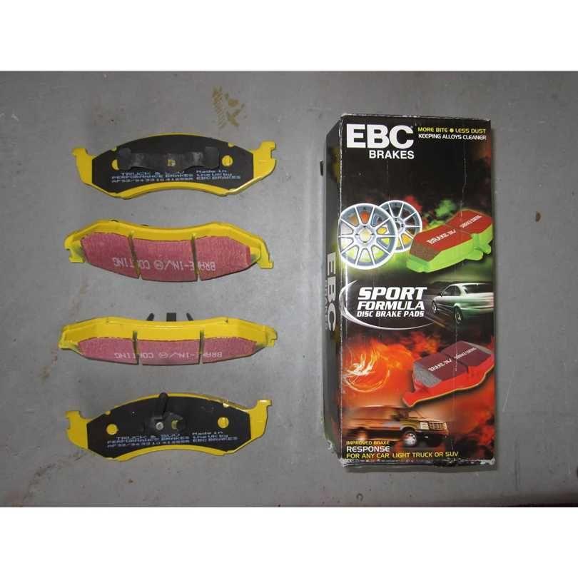 EBC Brakes DP41075R Yellowstuff Street and Track Brake Pad