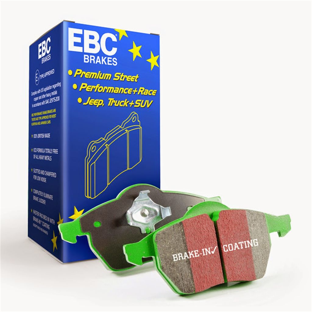 EBC Brakes DP2114 Greenstuff 2000 Series Sport Brake Pad