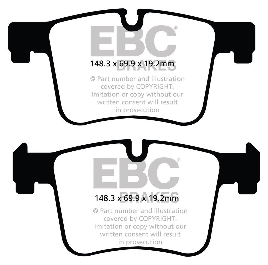 EBC Brakes DP32105C Brake Pad