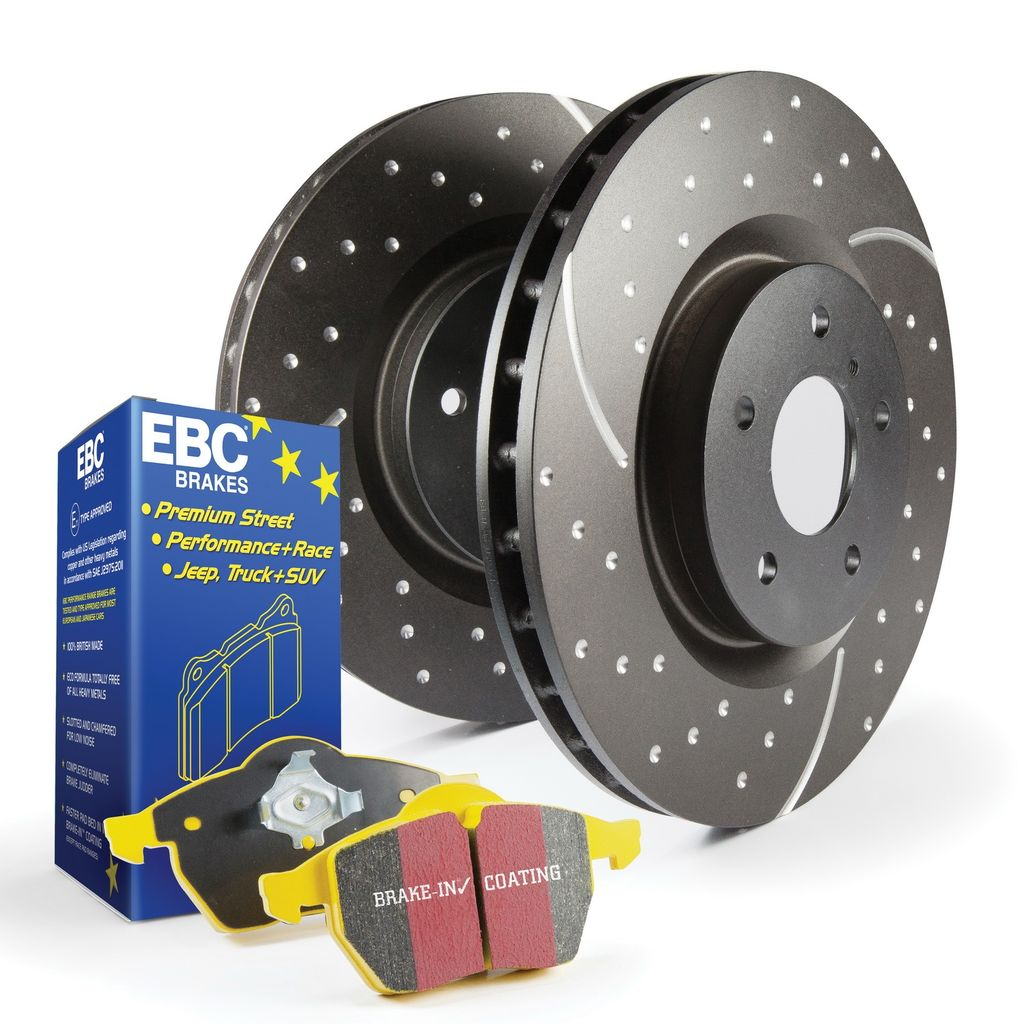 EBC Brakes S5KF1287 - Disc Brake Pad and Rotor Kit