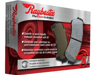 Raybestos Front Metallic Brake Pads Set For 1990-2000 Chevrolet K3500