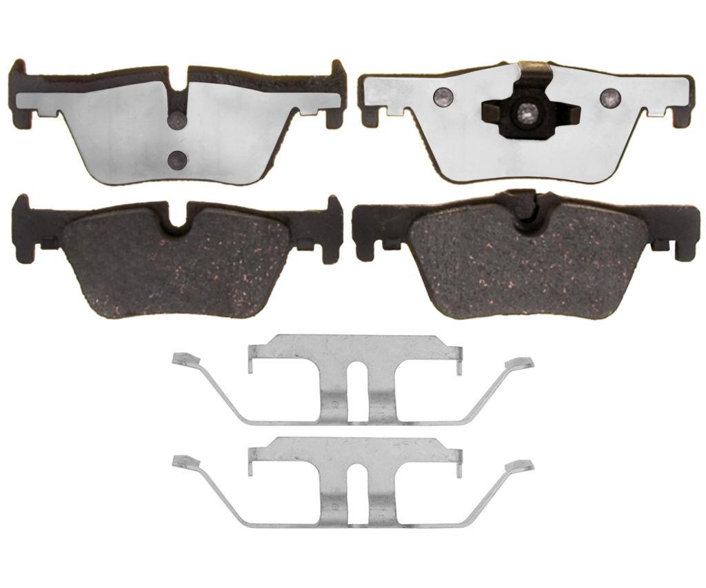 Disc Brake Pad Set-Element3; Hybrid Technology Front Raybestos EHT601H