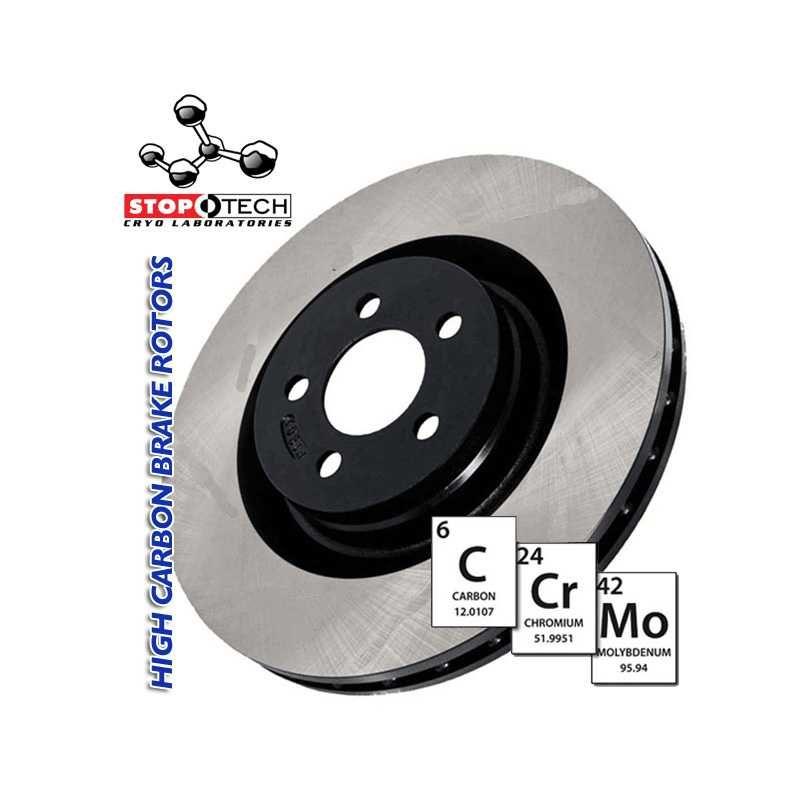 StopTech 125.51035 Premium Brake Rotor