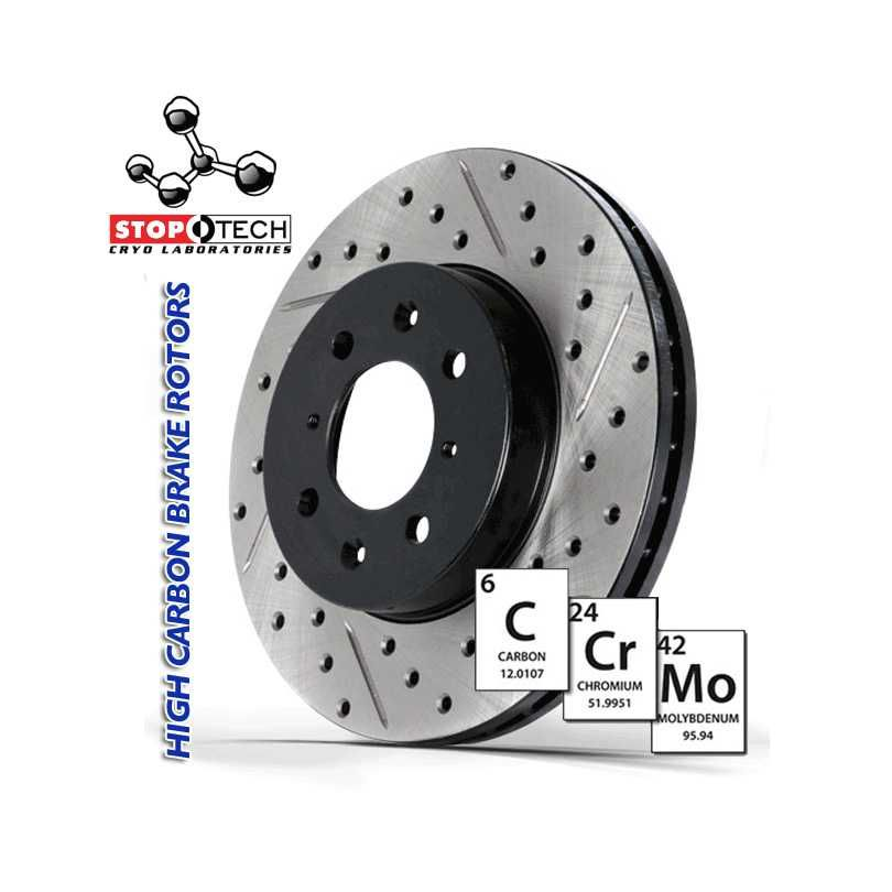 StopTech Brake Rotor 127.34078CL