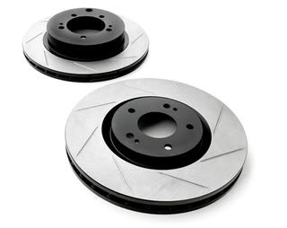 StopTech 126.44064SR Sport Slotted Brake Rotor; Front Right