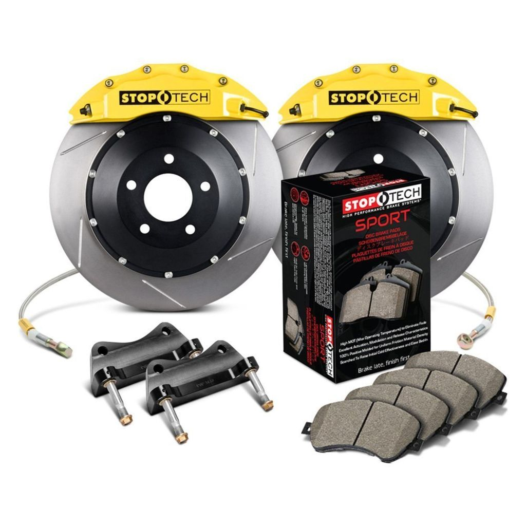 Stoptech 83.153.6D00.81 - Big Brake Kit 2 Piece Rotor, 2 Box Kit