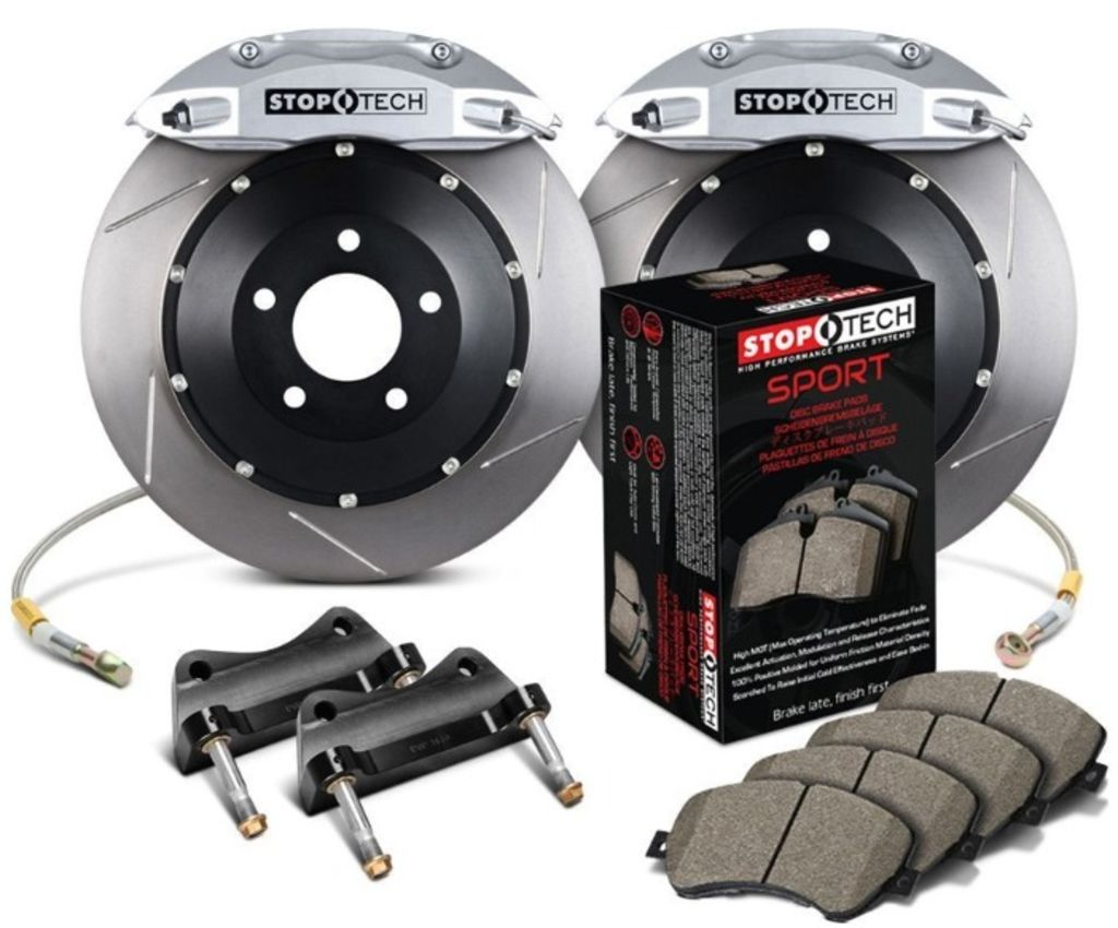 Stoptech 83.893.4700.61 - Big Brake Kit 2 Piece Rotor, 2 Box Kit