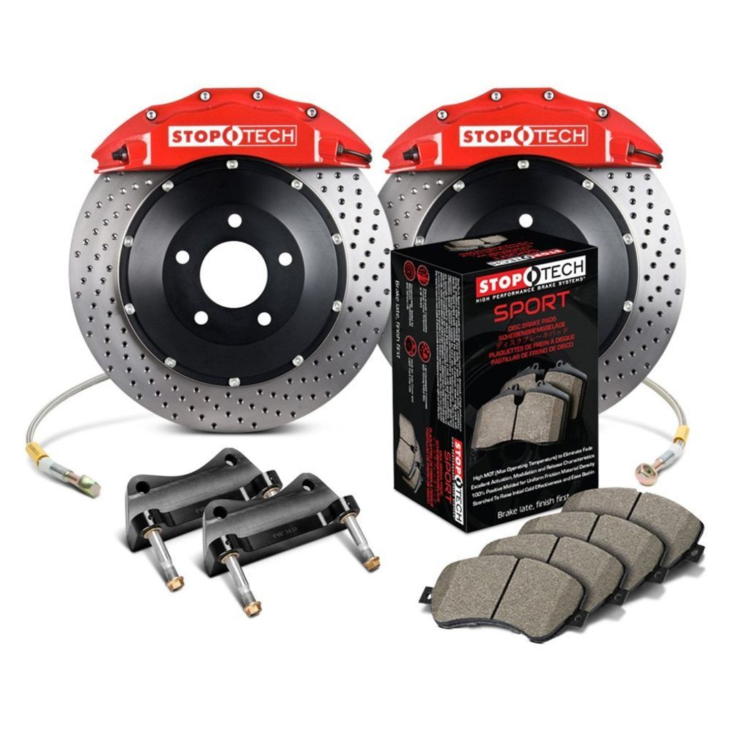 Stoptech 83.B32.6D00.72 - Big Brake Kit 2 Piece Rotor, 2 Box Kit