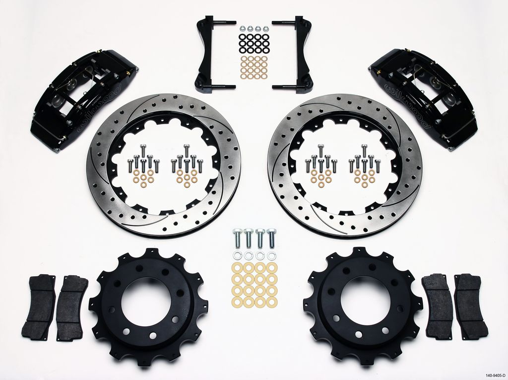 Wilwood 140-9405-D - TC6R Big Brake Truck Brake Kit