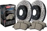 StopTech Brake Kit - Drilled and Slotted- Stage 2 Street Rotor and Pad Kit