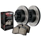 StopTech Brake Kit - Slotted - Stage 3 Truck n Tow Rotor & Pad Kit