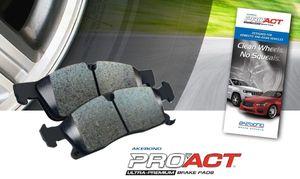 Frt Ceramic Brake Pads QX1363 Silent Stop