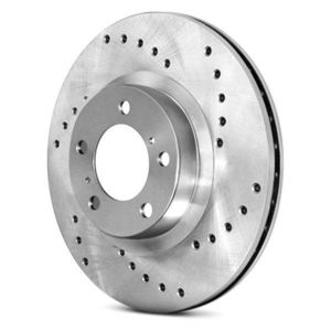 C-Tek Economy Drilled Brake Rotor