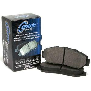 Centric Parts 300.05760 Semi Metallic Brake Pad with Shim