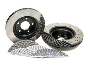 Centric Brake Kit Brake Rotors