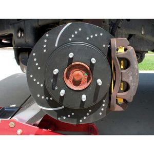 EBC Brakes GD7459 3GD Series Dimpled and Slotted Sport Rotor