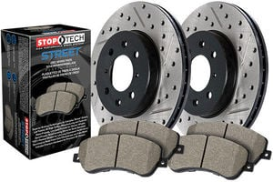 StopTech Drilled-Slotted-Brake-Kit