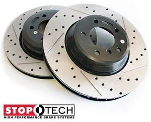 StopTech Drilled-Slotted-Brake-rotors