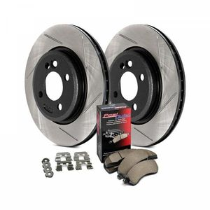 StopTech Brake Kit - Slotted- Stage 3 Street Rotor and Pad Kit