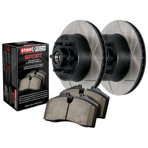 Stoptech Truck and Tow Kit, 126 version Slotted rotors