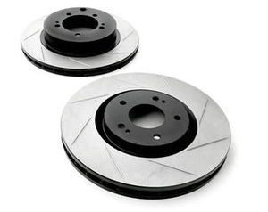 Right StopTech 126.42130SR Sport Slotted Rotor